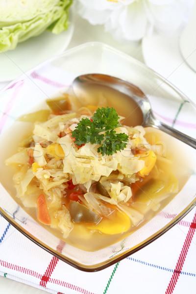 キャベツ スープ 野菜 健康 調理 食べる ストックフォト © brebca