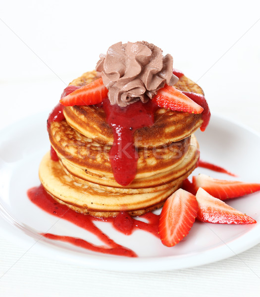 Sweet pancakes  Stock photo © brebca