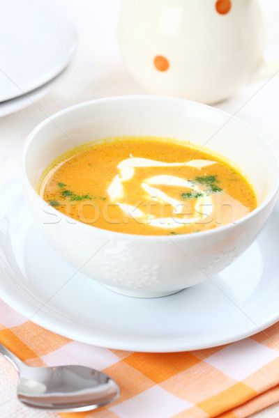 Carrot soup  Stock photo © brebca