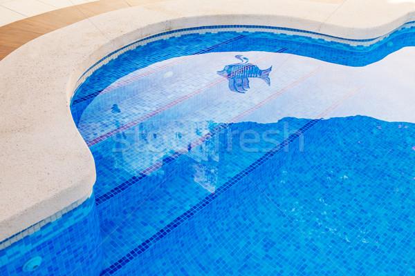 Outdoor swimming pool Stock photo © brebca
