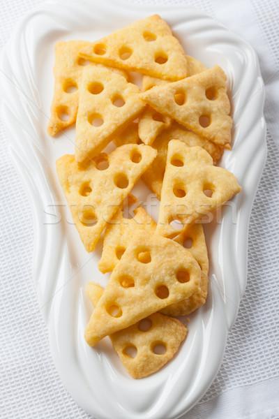Cheese crackers Stock photo © brebca