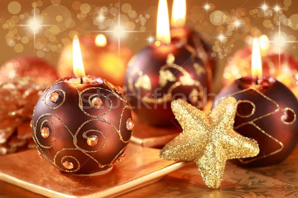 Christmas still life Stock photo © brebca