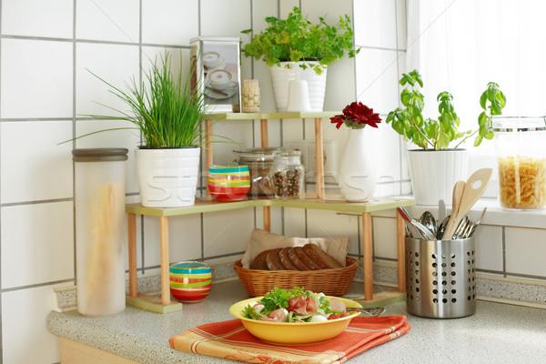 In the kitchen Stock photo © brebca