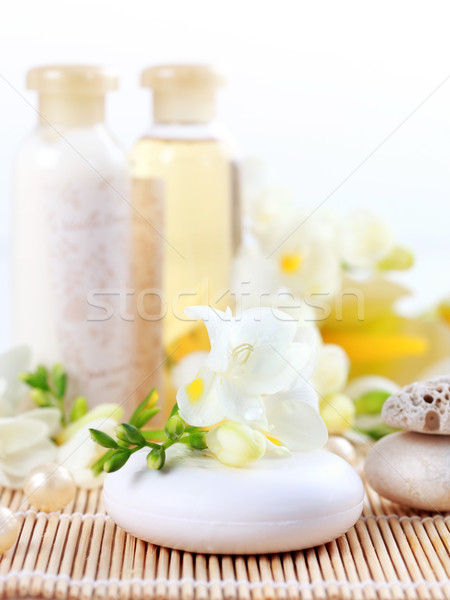 Luxury soap Stock photo © brebca
