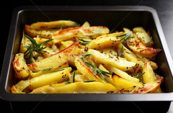 Baked potatoes  Stock photo © brebca
