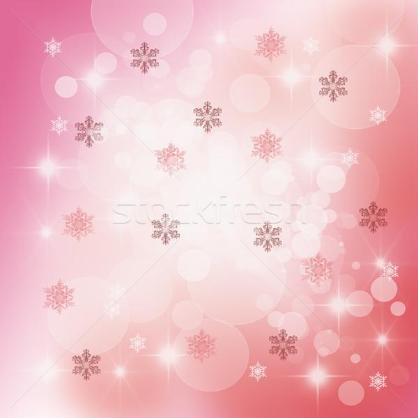 Christmas Delicate Abstract  Stock photo © brebca