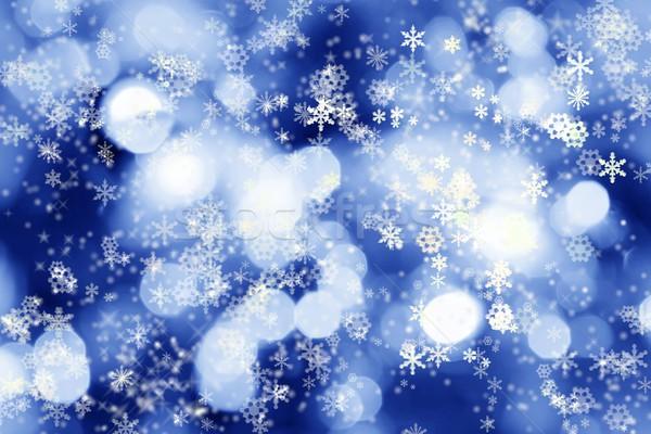 Winter lights background Stock photo © brebca