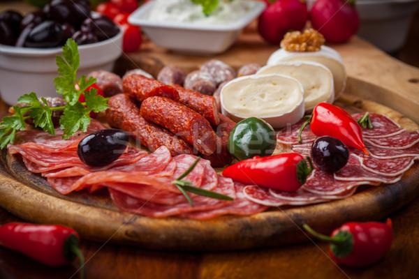 закуски питание продовольствие ресторан обеда Салат Сток-фото © brebca