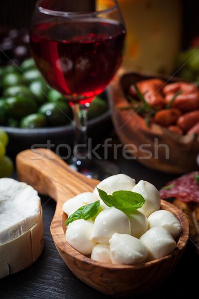 Antipasti foto aperitivos alimentos restaurante cena Foto stock © brebca