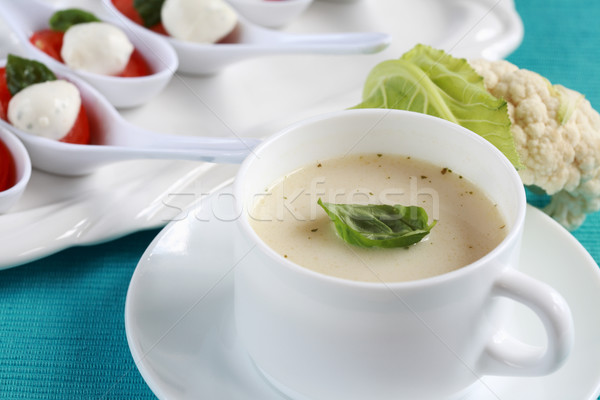 Cauliflower soup Stock photo © brebca