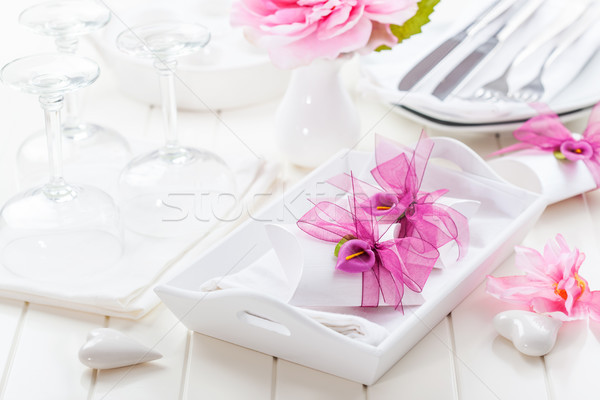 Fine dining Stock photo © brebca