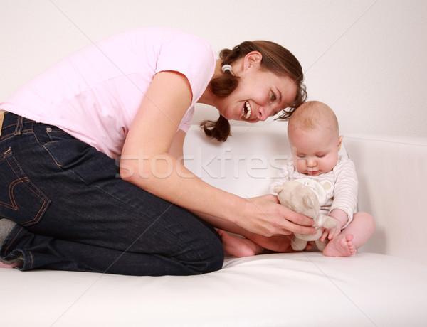 Family moments  Stock photo © brebca