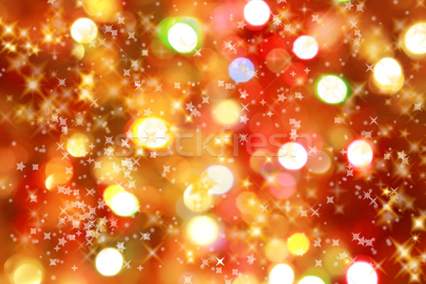 Christmas lights background Stock photo © brebca