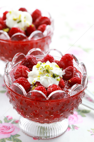 Strawberry dessert Stock photo © brebca