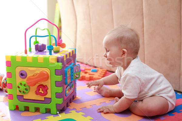Baby playing  Stock photo © brebca