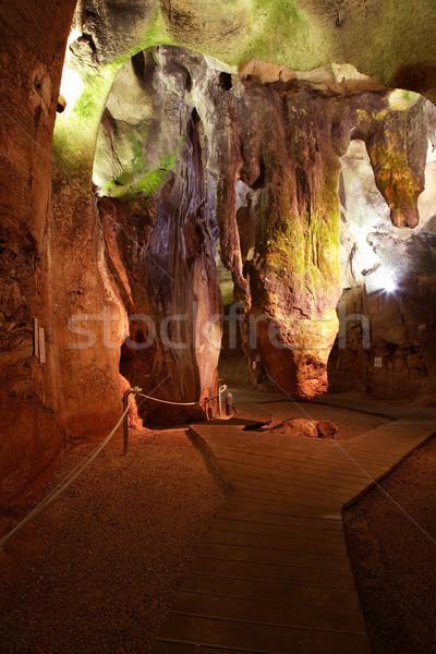 Cave Calaveres in Benidoleig in Spain Stock photo © brebca