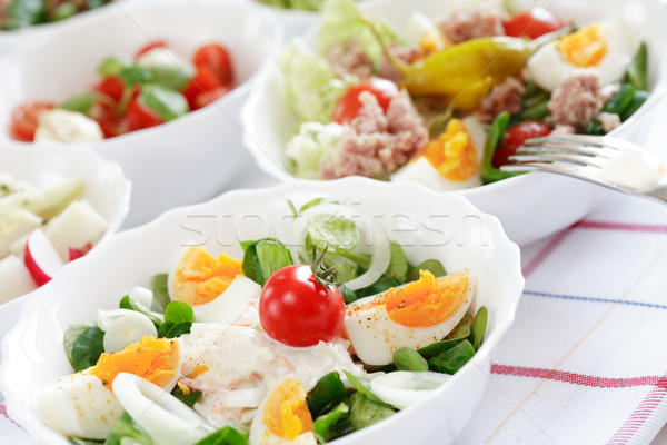 Kicsi alacsony kalória eszik étel hal Stock fotó © brebca