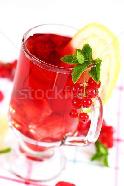 Stockfoto: Zomer · limonade · vers · vruchten