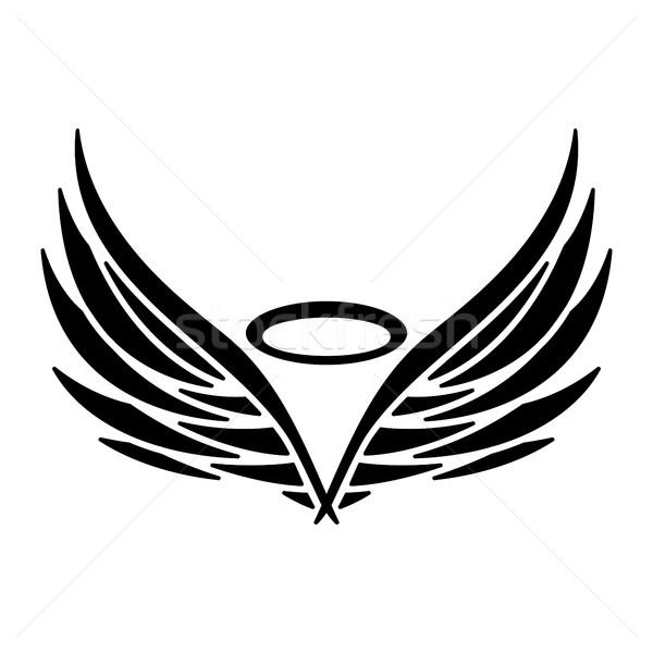 Angel Wings Stock photo © briangoff