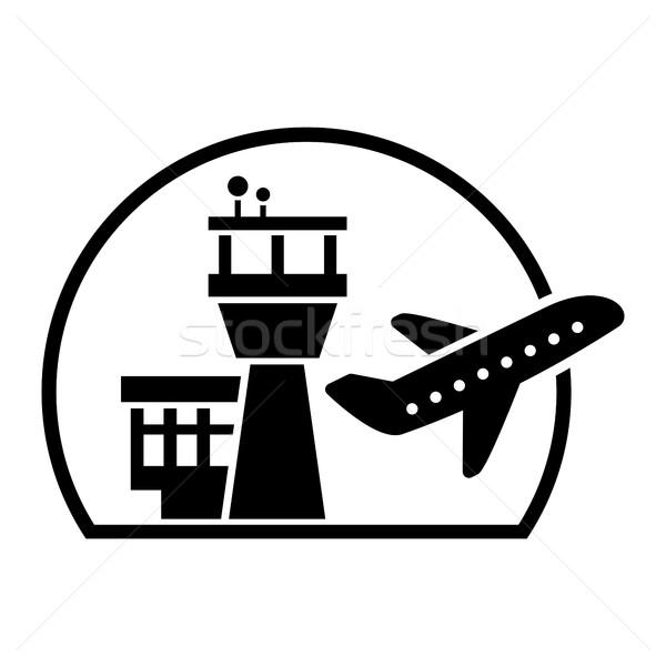 Airport Vector Icon Stock photo © briangoff