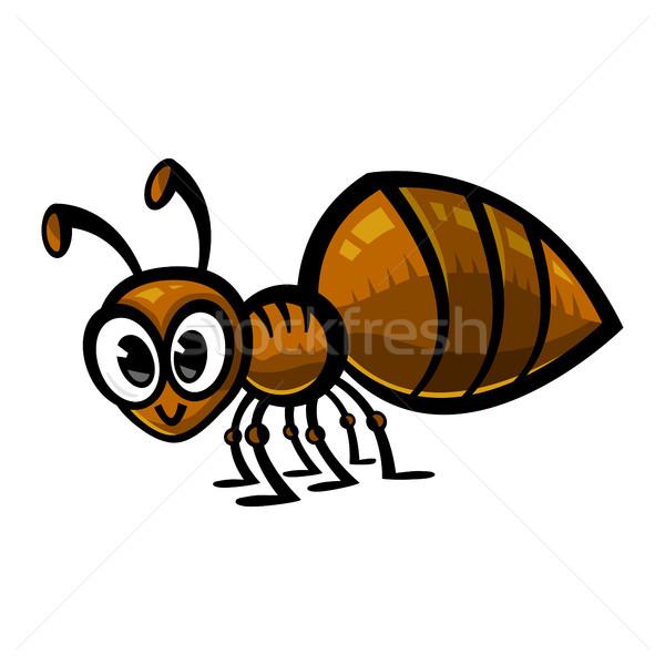 муравей природы саду фон рисунок ошибка Сток-фото © briangoff