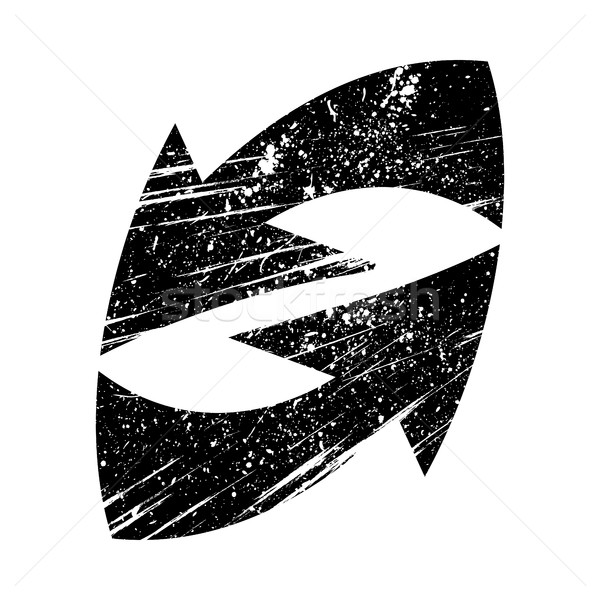 Arrow vector icon Stock photo © briangoff