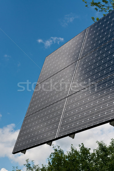 Renewable Energy - Photovoltaic Solar Panel Array Stock photo © brianguest