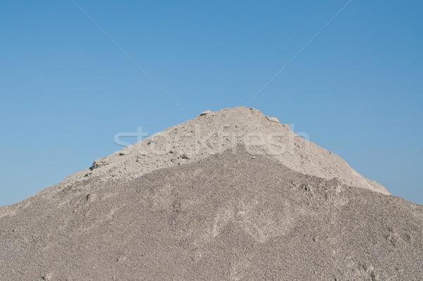 砂 青空 具体的な 製造 施設 ストックフォト © brianguest