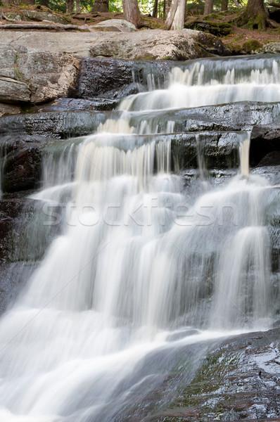 Piccolo ontario cascata giù rocce settentrionale Foto d'archivio © brianguest