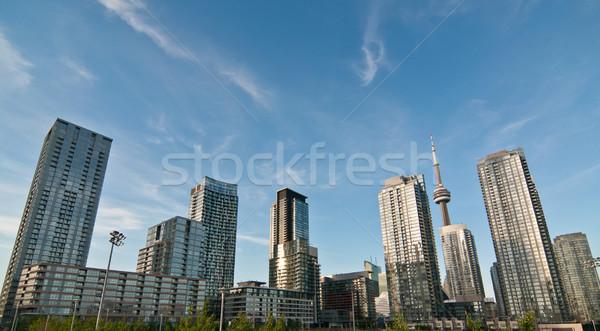 Toronto panoramę shot Zdjęcia stock © brianguest