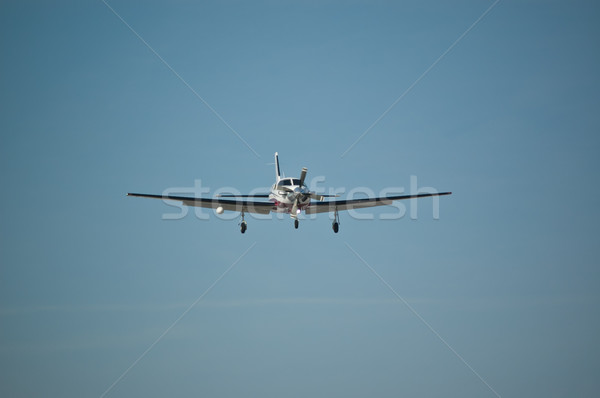 Light Aircraft in Flight Stock photo © brianguest