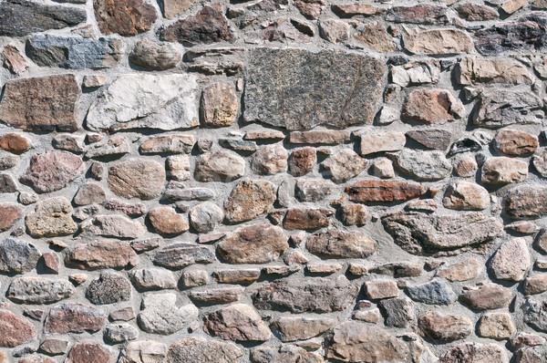 石の壁 テクスチャ セクション 自然 石 多くの ストックフォト © brianguest