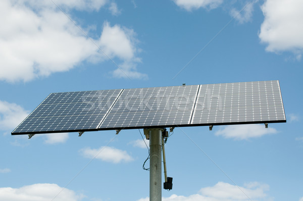 Photovoltaic Solar Panel Array - Renewable Energy Stock photo © brianguest