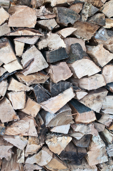 Stacked Firewood Stock photo © brianguest