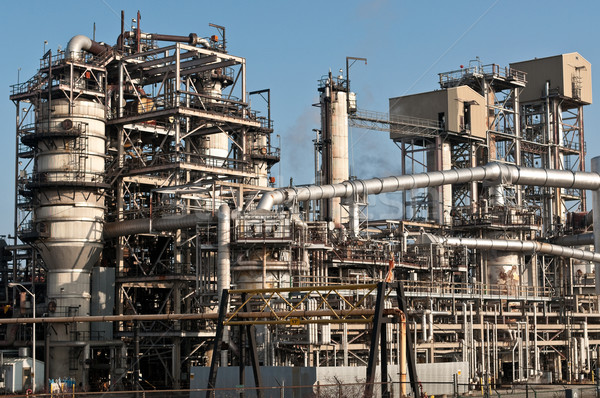 Petrochemical Refinery Plant Stock photo © brianguest