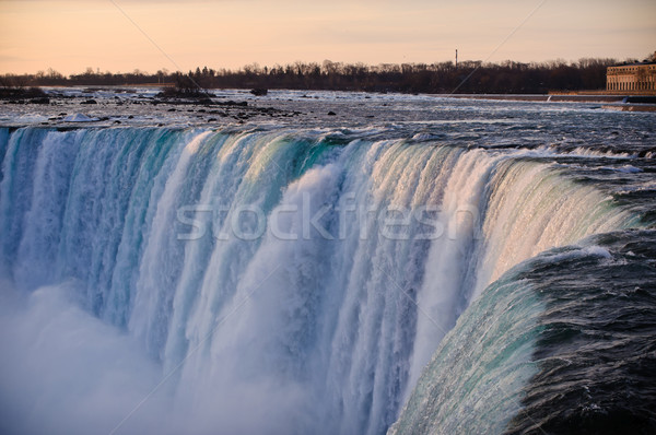 Niagara Falls (Horseshoe) in Winter Stock photo © brianguest