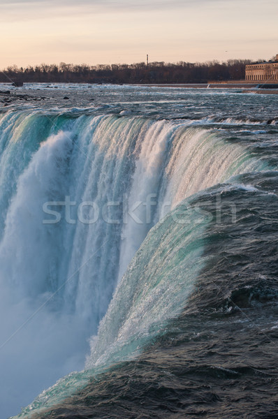 Brink of Niagara Falls Stock photo © brianguest