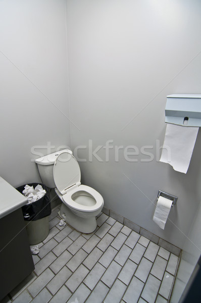 Toilet in Office Washroom Stock photo © brianguest