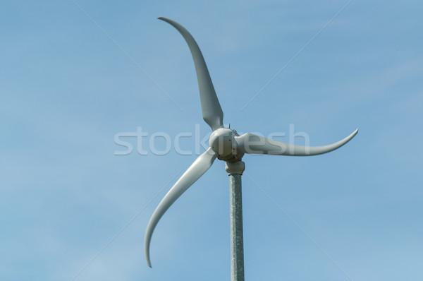 ветровой турбины ветер энергии власти электроэнергии улице Сток-фото © brianguest