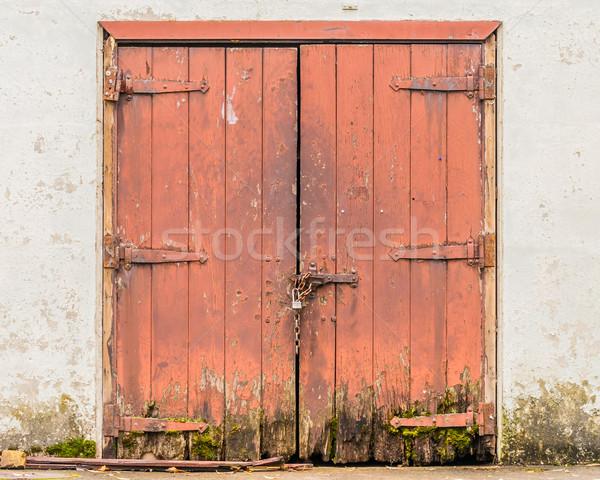 dilapidated doors  Stock photo © brm1949