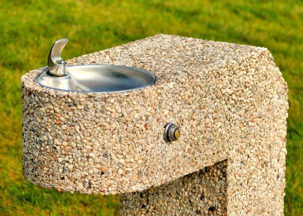 Stone Drinking Fountain Stock photo © brm1949