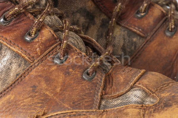 Worn Hunting Boot Stock photo © brm1949