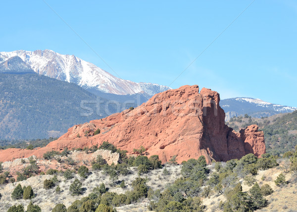 Garden Of The Gods South Gateway Rock Stock photo © brm1949