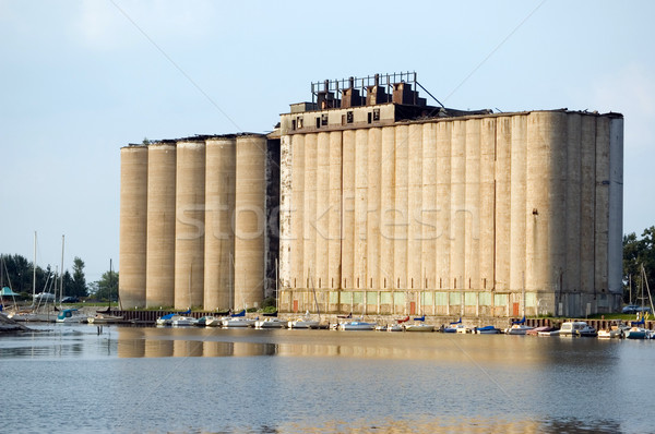 Grain Elevator Stock photo © brm1949