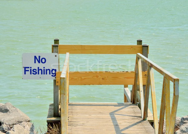 No Fishing Stock photo © brm1949