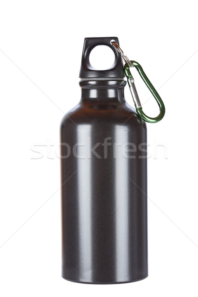Black aluminium canteen Stock photo © broker