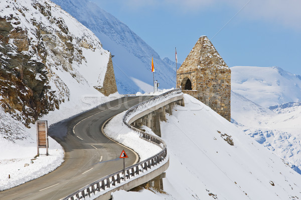 Monument in the Grossglockner, Austria Stock photo © broker