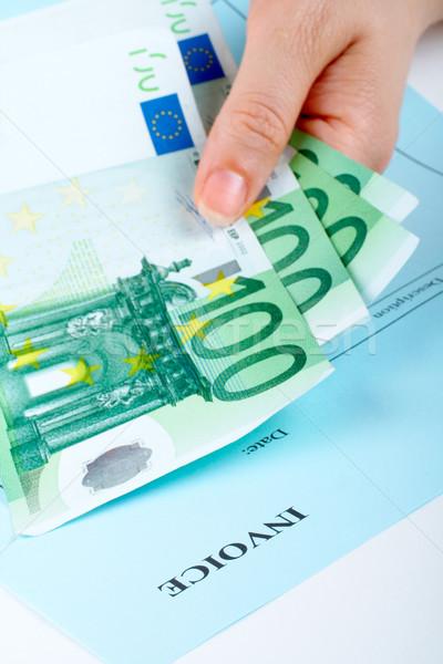 Holding money Stock photo © broker