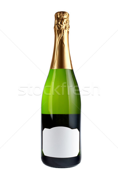 Champagne bottle Stock photo © broker