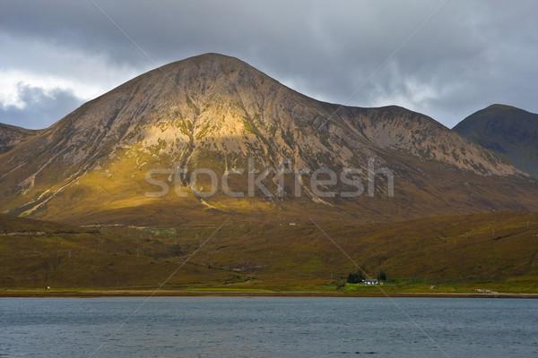 Nublado céu península natureza terra árvores Foto stock © broker